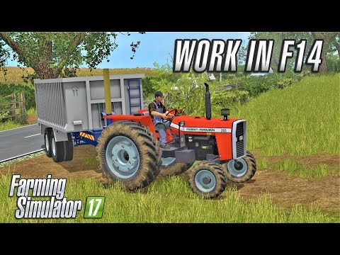 Farming Simulator 2017 | WORK IN F14 | Drumard Farm | Episode 17