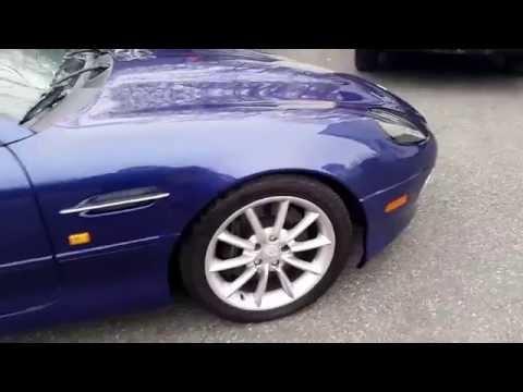 2002 aston martin db7 vantage v12  6spd sport exhaust