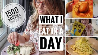 WHAT I EAT IN A DAY FOR 1500 CALORIES | WHAT CAN YOU EAT UNDER 1500 CALORIES