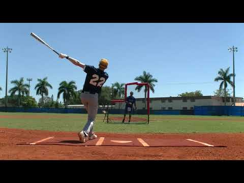 College baseball prospect Jordan Gaynor baseball player - infield- Boca Raton Community High School