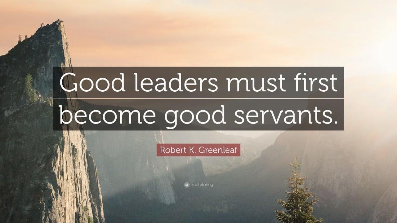 TOP 20 Robert K. Greenleaf Quotes