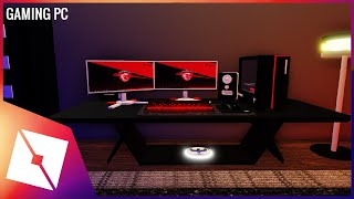 ROBLOX Studio | [Speedbuild] Gaming PC Setup