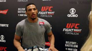 Kevin Lee talks big fights and big life challenges ahead of UFC Fight Night 106