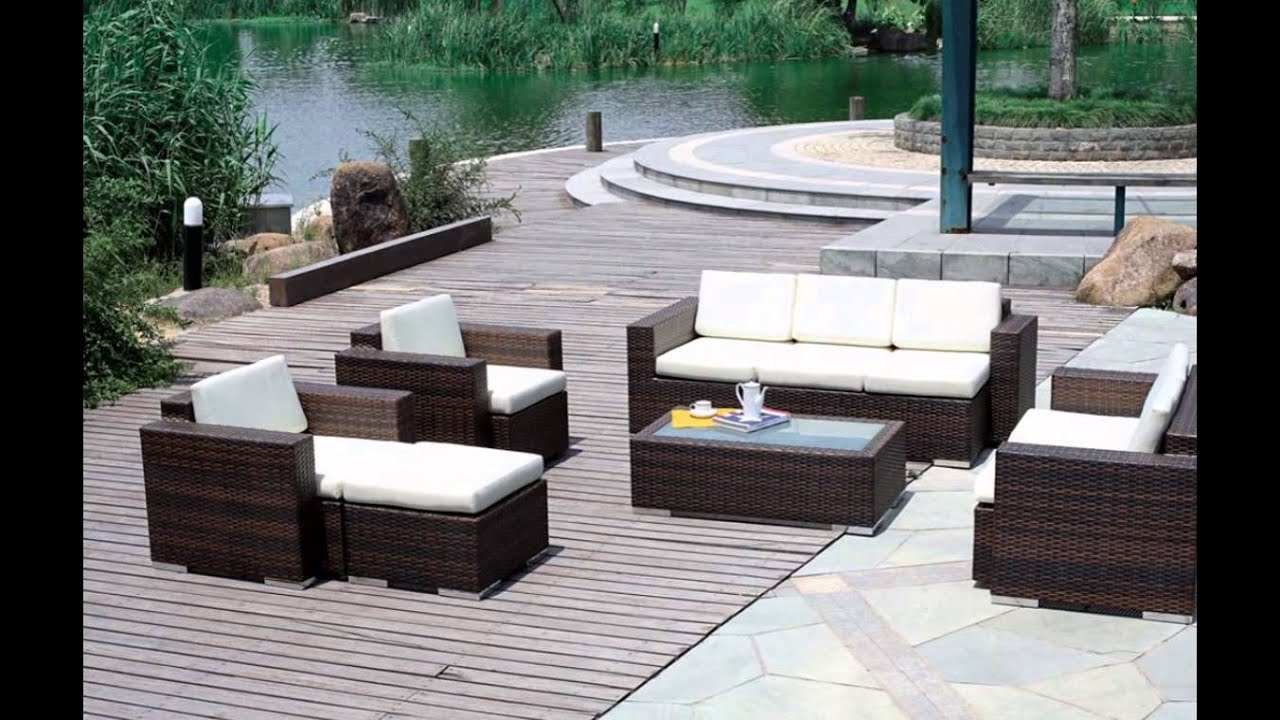deck furniture- deck furniture ideas- deck furniture clearance - youtube