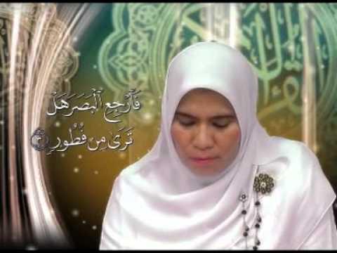 SURAT AL - MULK AYAT 1 - 5 by Hj. Rahmawati Jamal MA