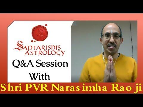 Q&A Session With Shri PVR Narasimha Rao ji