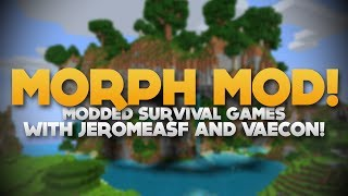 'MO' CREATURES MORPH' MODDED HG /w JeromeASF, Vaecon, Bashurverse, SkyDoesMinecraft & LOADS MORE!