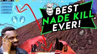 BEST NADE KILL EVER - PUBG Mobile
