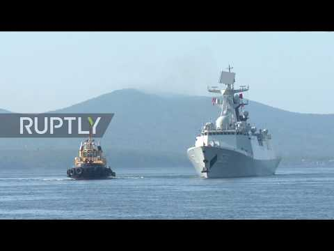 Russia: Russian-Chinese naval drills kick off in Vladivostok