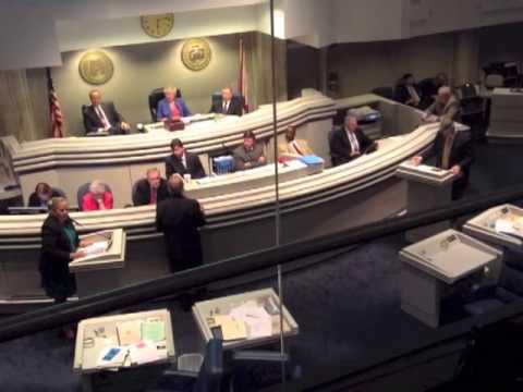 Alabama Senate Floor Debate on HB57 - Senator Harri Anne Smith - Part 1