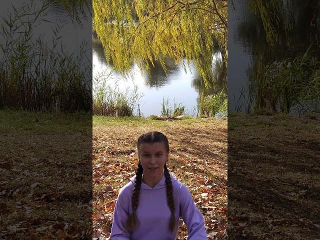 Изображение предпросмотра прочтения – ИринаИгнатова читает произведение «Закружилась листва золотая…» С.А.Есенина