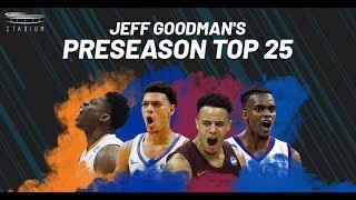 Jeff Goodman's College Basketball Preseason Top 25 | Stadium