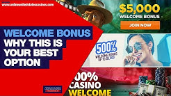 Why a WELCOME BONUS or SIGN UP BONUS is Your Best Option at Online Casinos