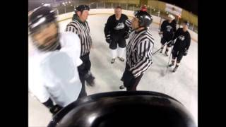 GoPro Beer League Hockey Fight