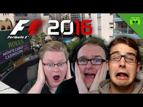 CHAOS IN MONACO 🎮 F1 2016 #4
