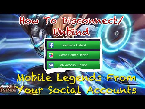 How To Disconnect/Unbind Your FB/VK/GameCenter Account On