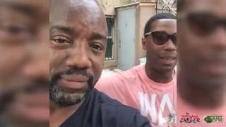 Malik Yoba visits the cast of ' The Professional Chiller ' Web Series