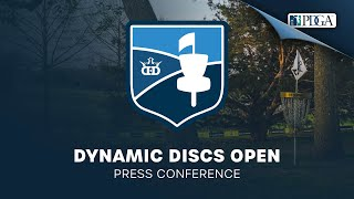 Dynamic Discs Open | Press Conference