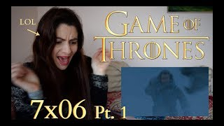 Reaction video to Game of Thrones 7x06: Pt 1 Beyond the Wall thumbnail