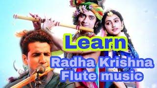 Learn Radha Krishna flute