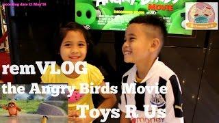 NONTON ANGRY BIRDS MOVIE remVLOG ke 7