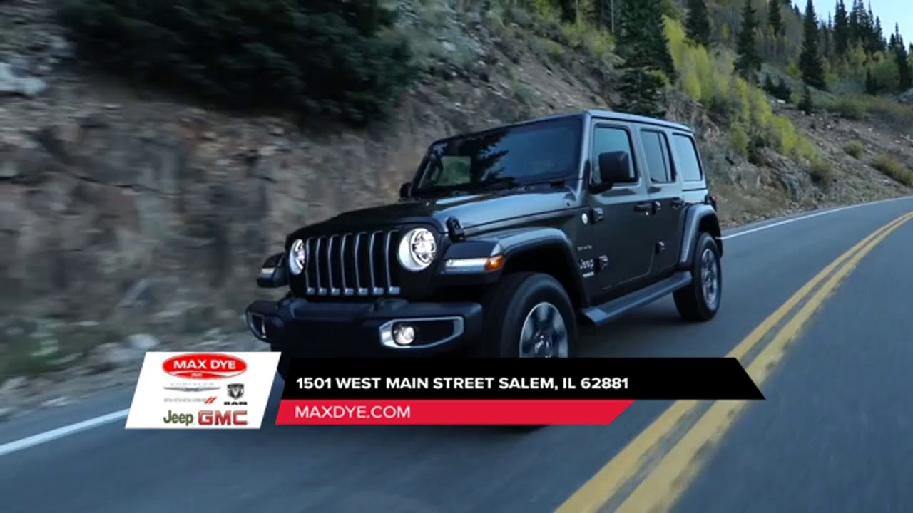 2018 Jeep Wrangler Mount Vernon IL | Jeep Wrangler Dealer ...