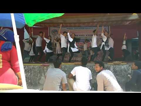 Koli dance practice at jr collage