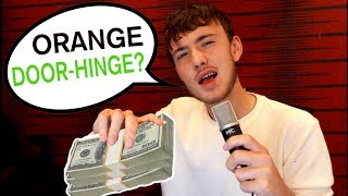 Losing $1,000 Every Time I Don't Rhyme (Freestyle Challenge)