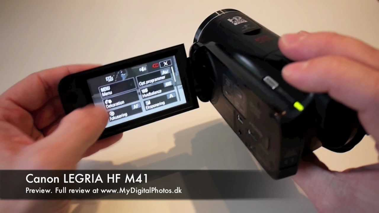 canon legria hf m41 preview youtube rh youtube com canon vixia hf m41 manual Canon Legria HF G10