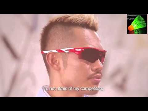 Lin Dan is really a funny guy