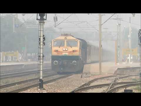 Indian Railways | Train Operations in Heavy Fog
