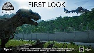 Jurassic World Evolution - Exclusive Gameplay Footage