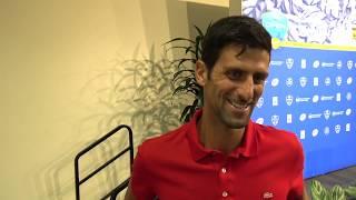 Izjava Novaka Djokovica nakon finala u Cincenatiju I 2018 SPORT KLUB Tennis