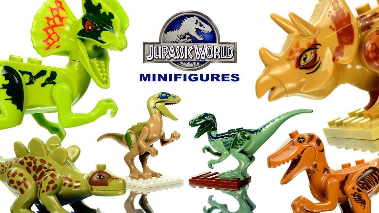Jurassic World Lego Knockoff Dinosaurs Set 1 Review Sl
