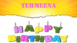 Tehmeena   Wishes & Mensajes - Happy Birthday