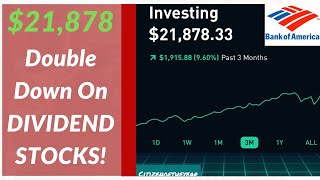 $21,878 Robinhood Portfolio! 2x Dividends on THESE Stocks!