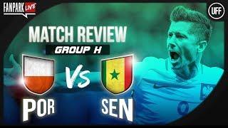 Poland 1-2 Senegal - Full Time Phone In - FanPark Live