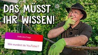 Ich stelle mich euren Fragen! 🧐 - Q&A mit dem Gartencoach