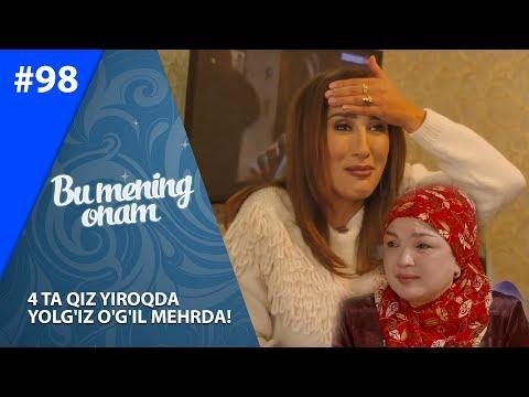 Bu Mening Onam 98-soni 4 Ta Qiz Yiroqda  Yolg'iz O'g'il Mehrda! (26.11.2019)