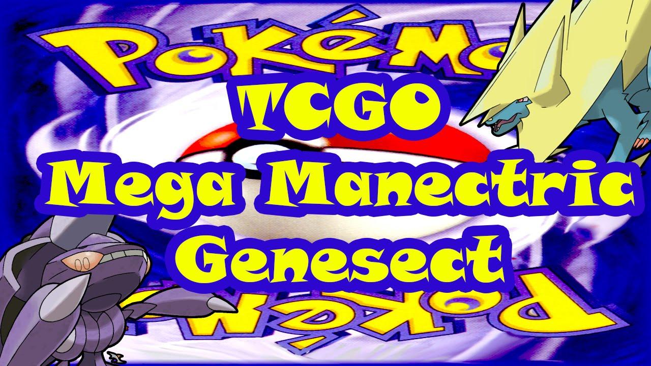 Pokemon Trading Card Game Online: Mega Manectric/Genesect