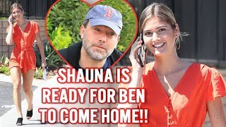 EXCLUSIVE - We Asked Shauna Sexton If She's Happy For Ben Affleck To Finish Rehab