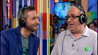 Leo Harlem y Frank Blanco protagonizan 'la entrevista  más surrealista' de Zapeando