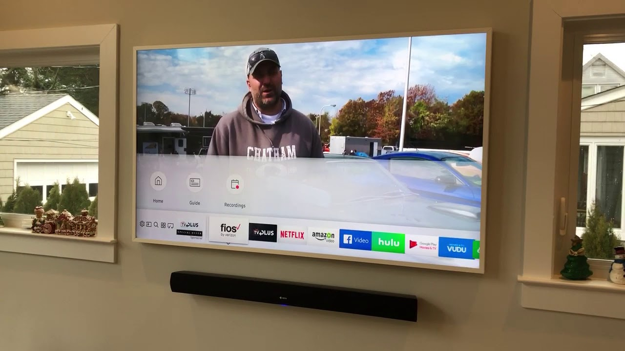 Samsung 65 Inch Frame Tv Install Part 1 Youtube