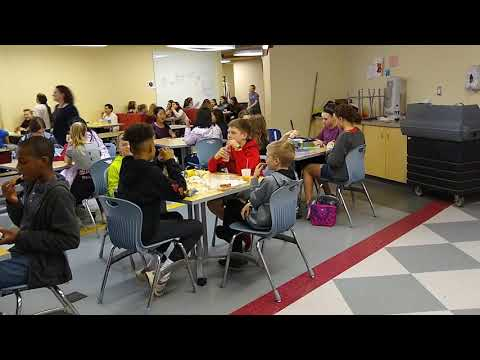New Albany Intermediate School students