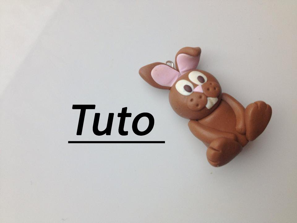 tuto fimo lapin en chocolat youtube. Black Bedroom Furniture Sets. Home Design Ideas