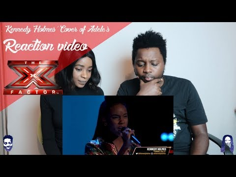 "Kennedy Holmes' Cover of Adele's ""Turning Tables"" Gets FOUR TURNS -The Voice 2018 REACTION VIDEO"