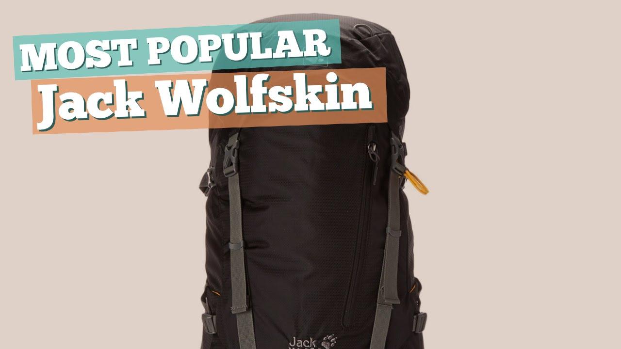 Jack Wolfskin Backpacks For Men    Most Popular 2017 - YouTube 107b10177f