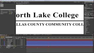 FLMC 1331 After Effects Introduction (NLC Logo Animation)
