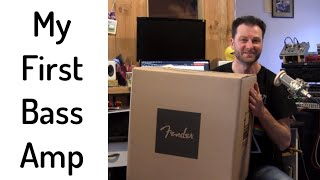 Fender Rumble 40 Unboxing
