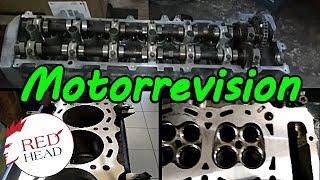 Motor Revision Toyota Landcruiser J8 -4,5 Liter  1FZ-FE Zylinderkopf  24V (FZJ80_)